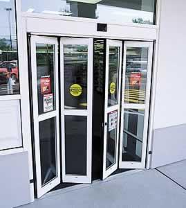 Automatic Bi Folding Doors