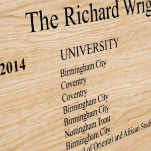 School Honour Boards