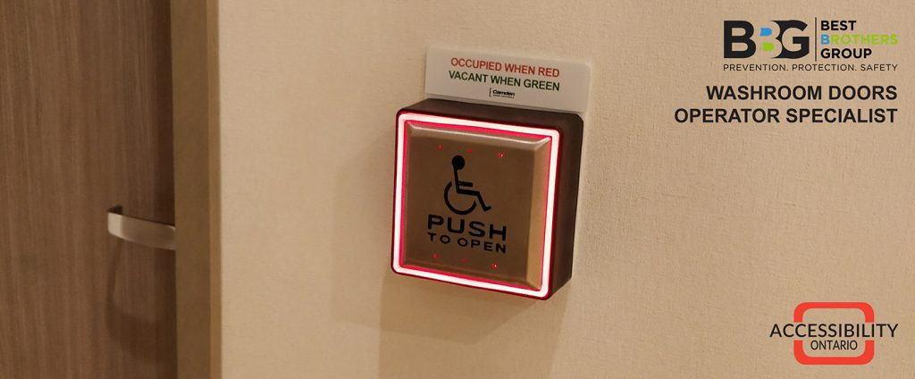 Handicap Washroom Doors Operator in Orillia | Best Brothers