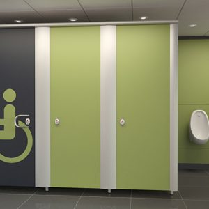 Automatic Handicap Washroom Doors Operator