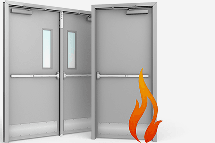 Steel Metal Doors, Steel Door with Frame and Fire Resistance Metal Steel Doors