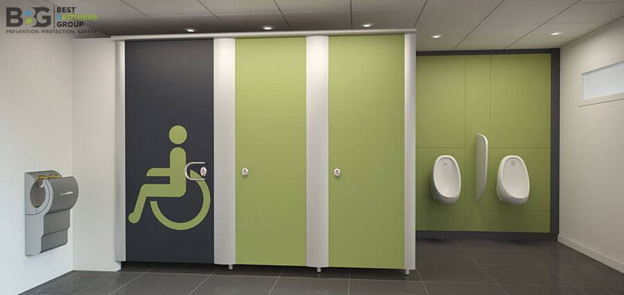 Handicap Washroom Automatic Door