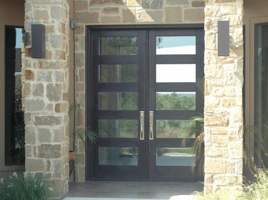 10 ways to protect front doors from break ins in your for Front door glass panels