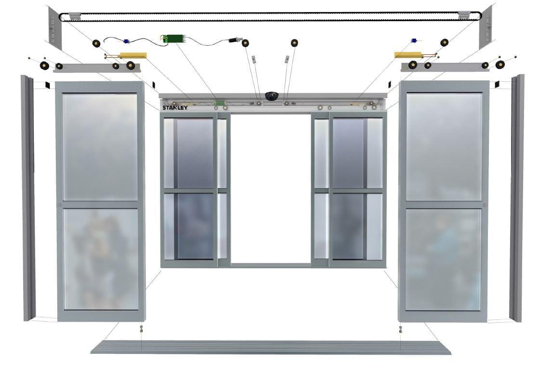 automatic sliding doors maintenance diagram